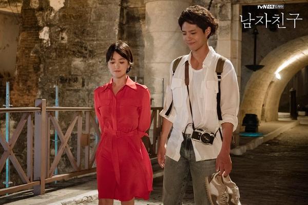 宋慧乔、朴宝剑——《男朋友》  图片源自豆瓣