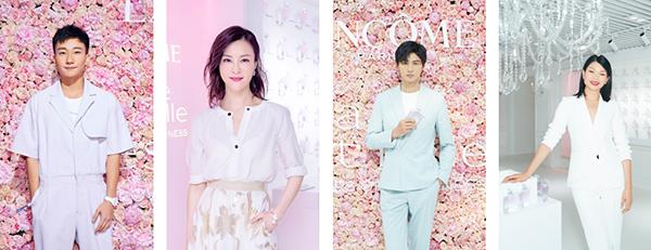 由左至右: 吴昊宸、刘孜、刘畅、吕燕 图片来源 兰蔻