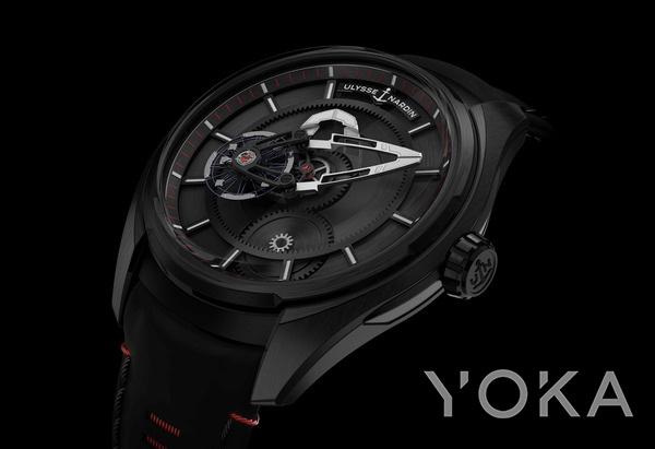 Ulysse Nardin奇想系列FREAK X腕表(图片来源于品牌)
