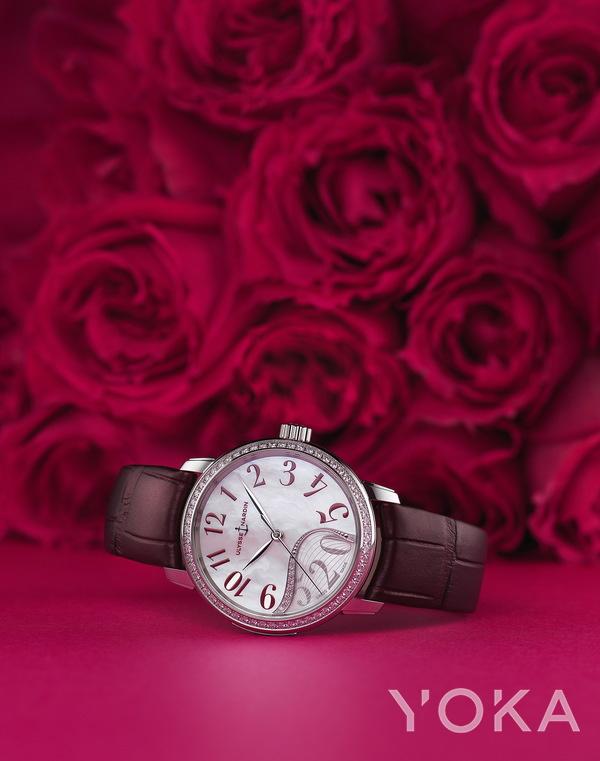 单品推荐:雅典表全新玉玲珑520限量款腕表 价格店询(图片来源于品牌)