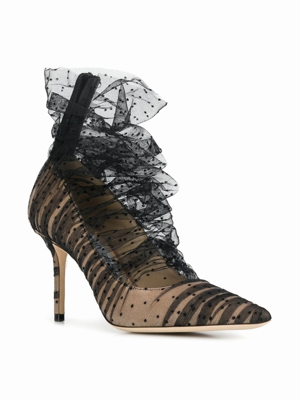 JIMMY CHOO Lavish 85高跟鞋 价格约8094元  图片源自品牌