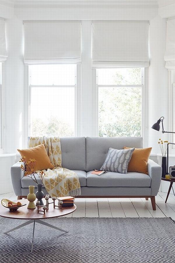 一字型沙發適合小戶型  圖片源自sofa. com