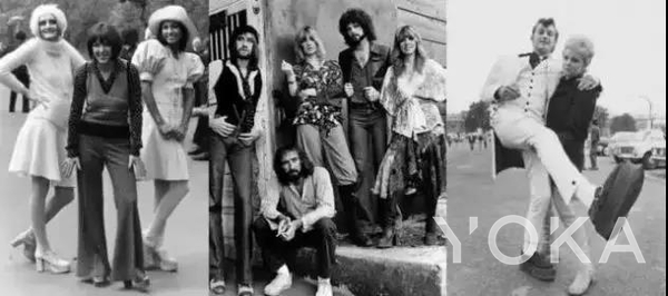 70年代嬉皮風代表