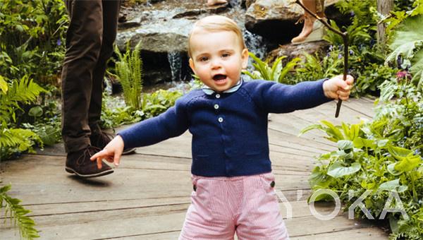 路易王子(图片来源于hellomagazine)