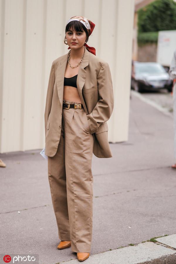 时尚博主 Maria Bernad(图片来自东方IC)