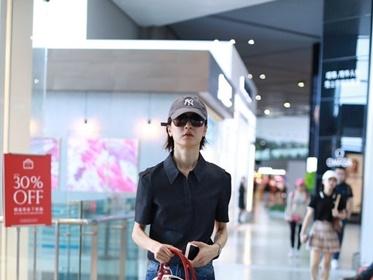 酷女孩polo衫搭配指南:想更酷就要像杜鹃这样穿!