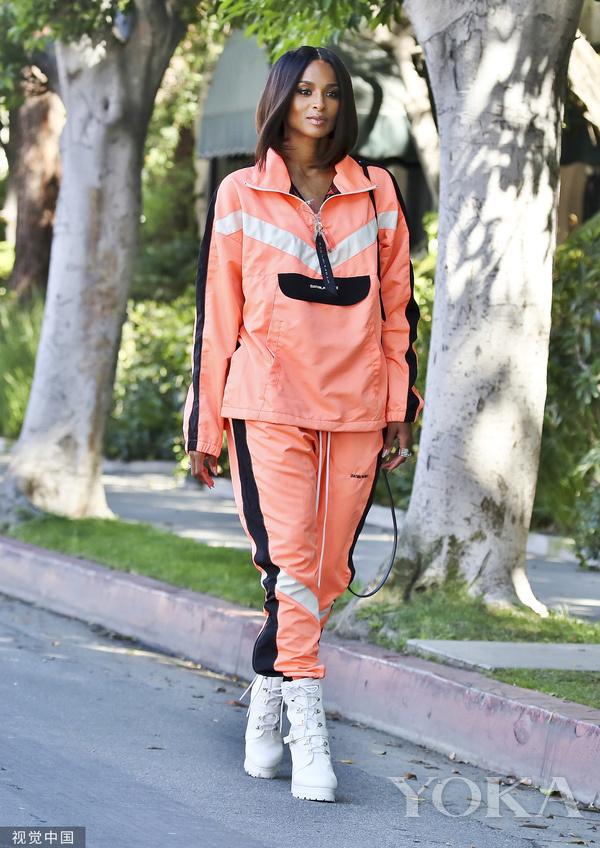席亚拉(Ciara)时尚街拍(图片来自视觉ub8优游手机版国)