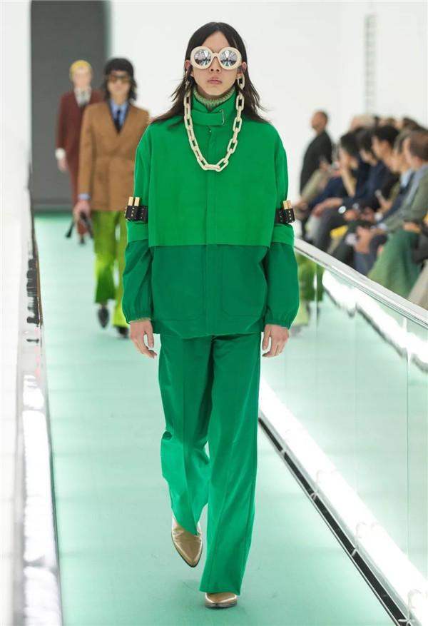 Gucci 2020春夏秀場(圖片來源于品牌)