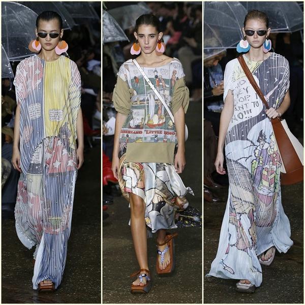 2020春夏巴黎时装周:LANVIN (图片来源于视觉中国)