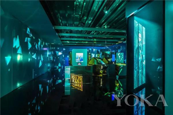「蒂芙尼梦想之蓝」展区(图片来源于品牌)
