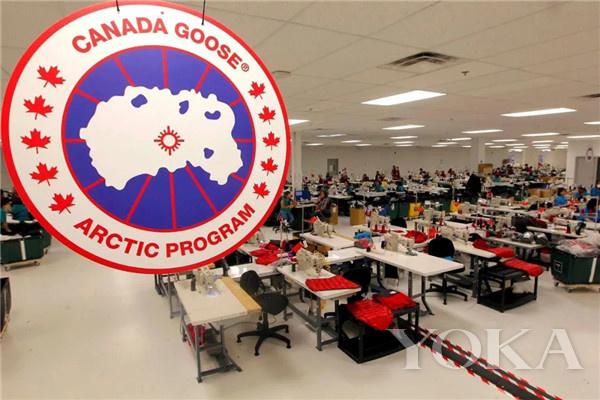 Canada Goose工厂(图片来源于Winnipeg Free Press)
