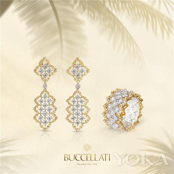 单品推荐: Buccellati Mini Rombi系列(图片来源于品牌)
