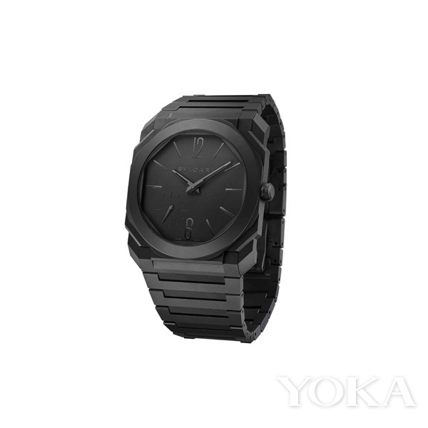 单品推荐:宝格丽Octo Finissimo自动上链陶瓷腕表(图片来源于品牌)