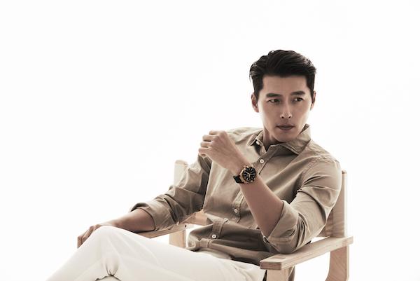 欧米茄 (OMEGA) 全新名人大使玄彬 (Hyun-Bin) 佩戴星座系列41毫米男士腕表
