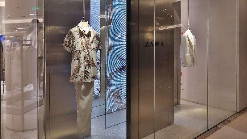 ZARA上海港汇恒隆广场重装开幕