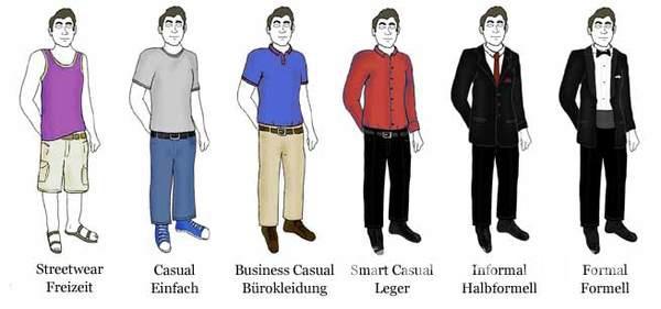 着装要求(Dress Code)
